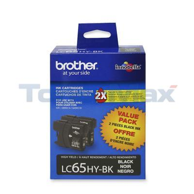 BROTHER MFC-6490CW INKJET CART BLACK HY